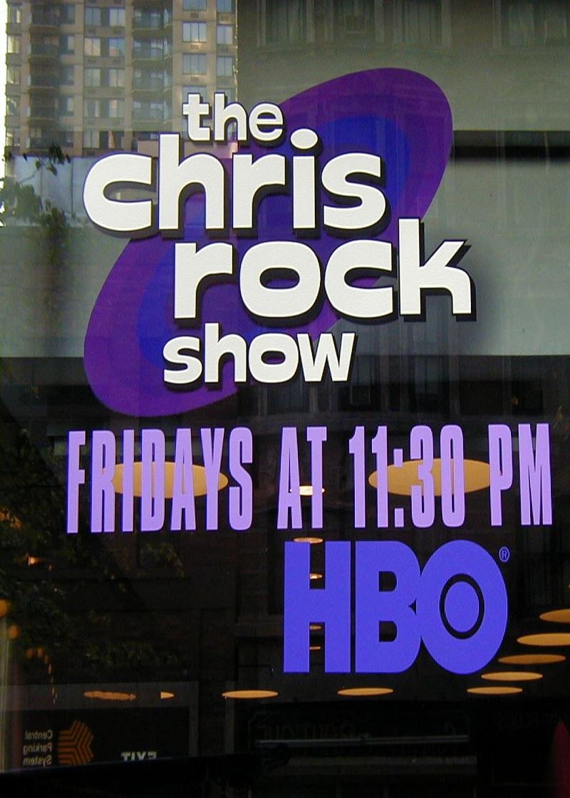 Chris Rock Show Show Poster