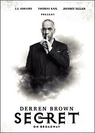 Derren Brown: Secret Poster