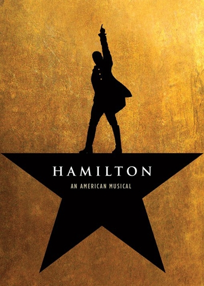 Hamilton on Broadway Show Poster