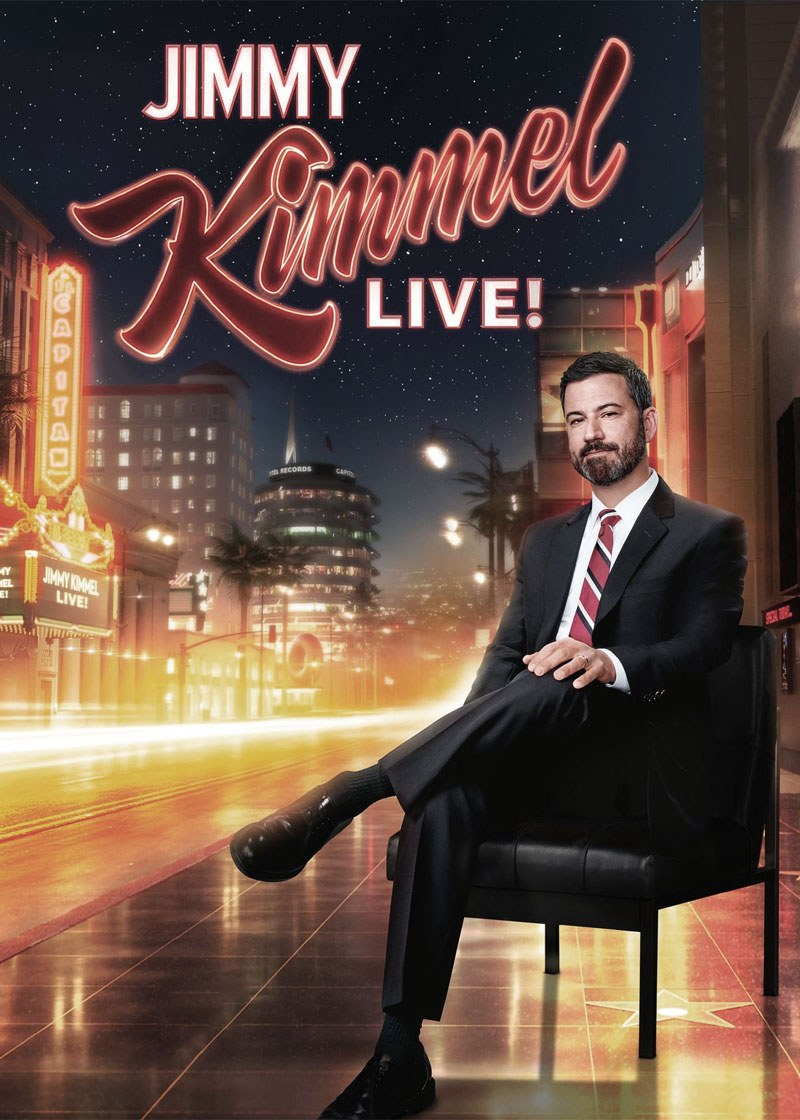 Jimmy Kimmel Live Show Poster