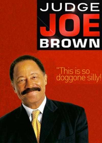 Judge Joe Brown Show Poster
