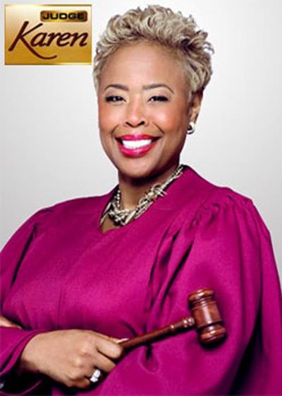 Judge Karen Show Poster