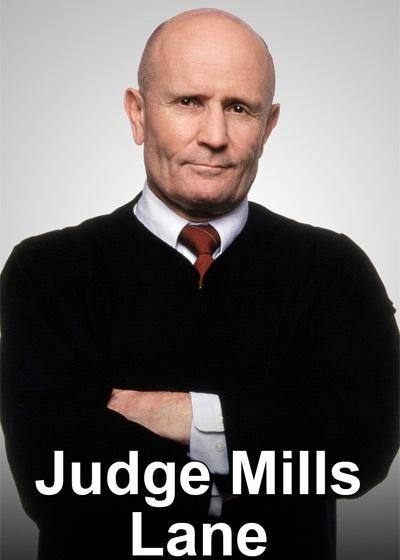 Judge Mills Lane Show Poster