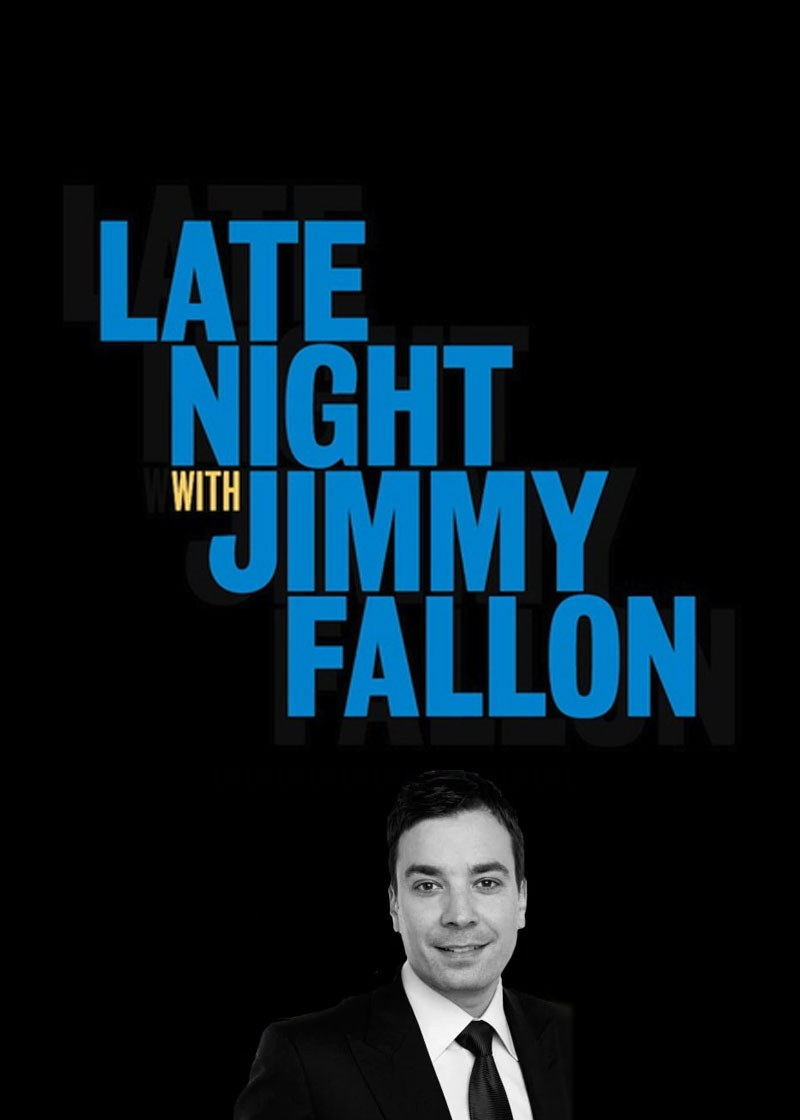Late Night with Jimmy Fallon Show Poster