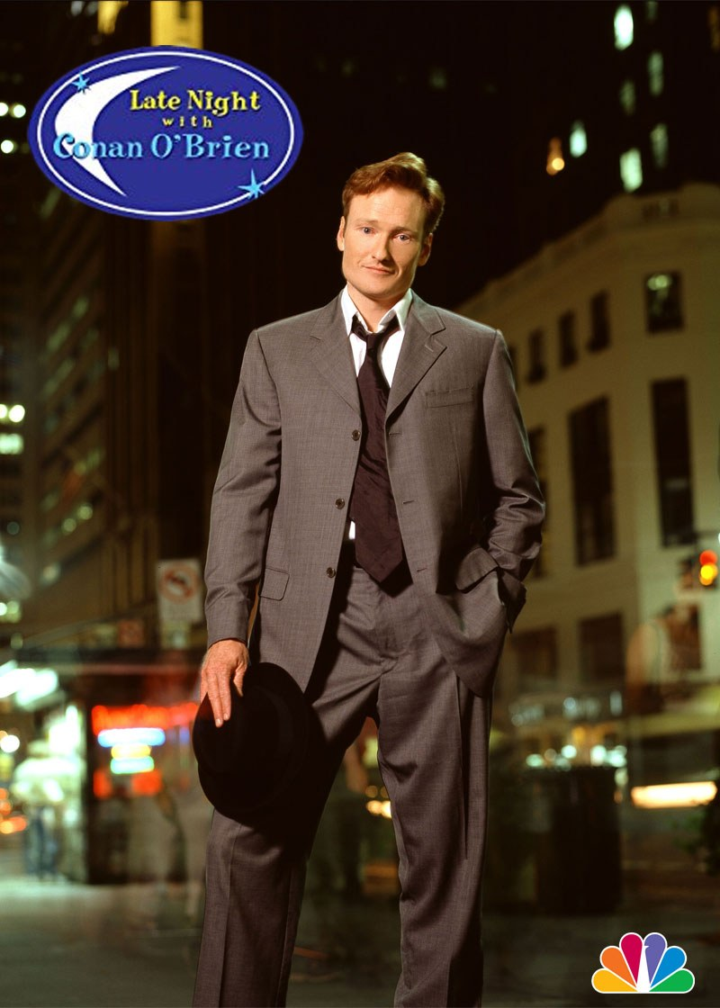Late Night with Conan O'Brien Show Poster