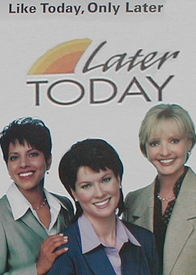 Later Today Show Poster