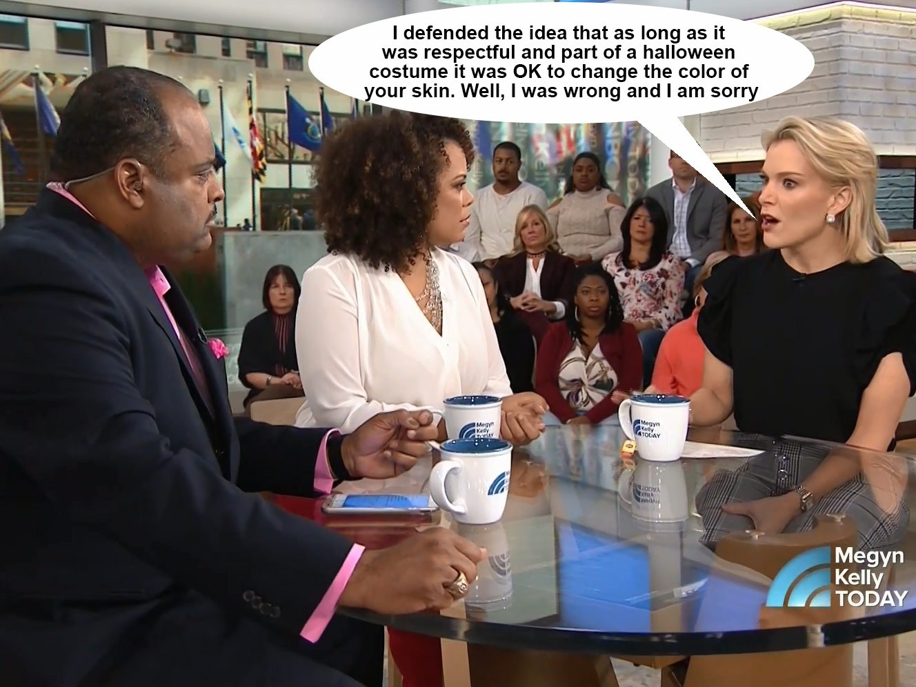 Megyn Kelly Apolgizes to black people on her show