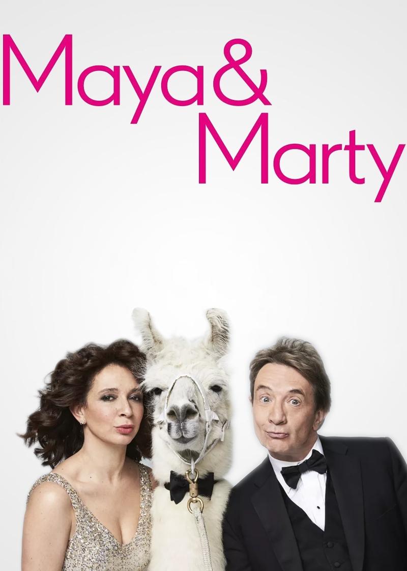 Maya & Marty Show Poster