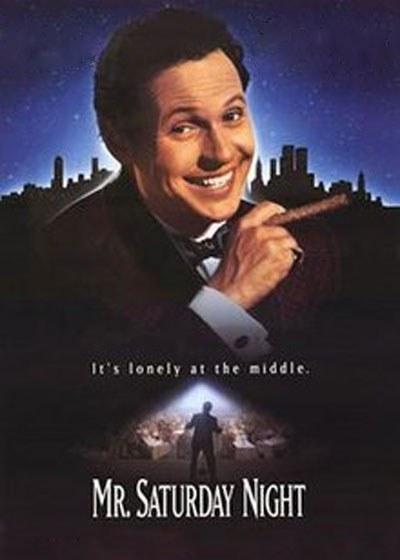 Mr Saturday Night Poster