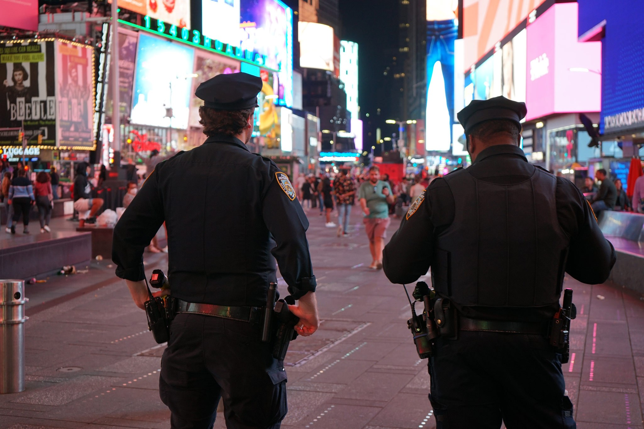 Strong Police Presence Required in Times Square NYC