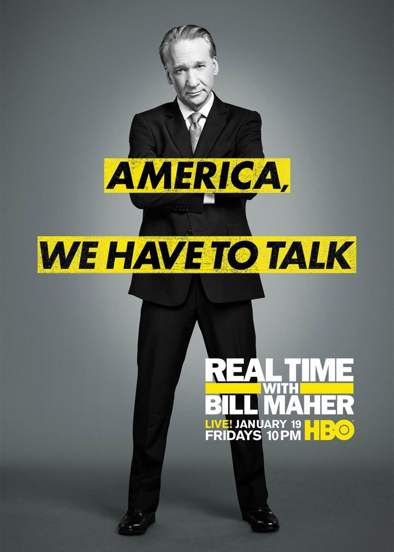 Real Time with Bill Maher Show Poster