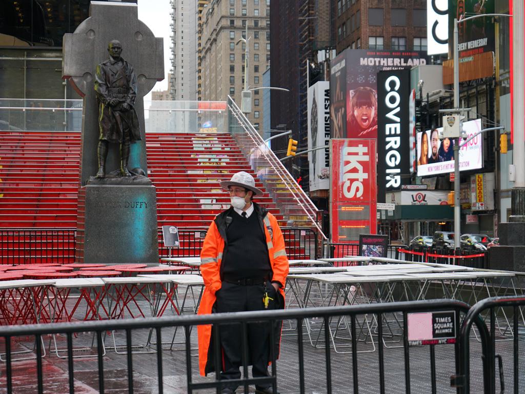 Times Square Closed During Coronavirus