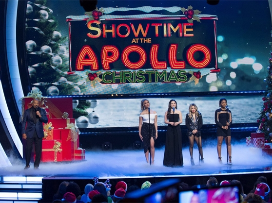 The Showtime at the Apollo Christmas special
