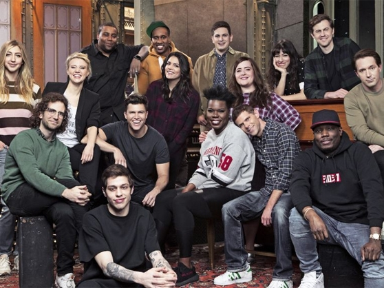 The current cast members of Saturday Night Live