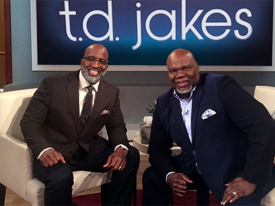 TD Jakes on his self-titled spiritual talk show