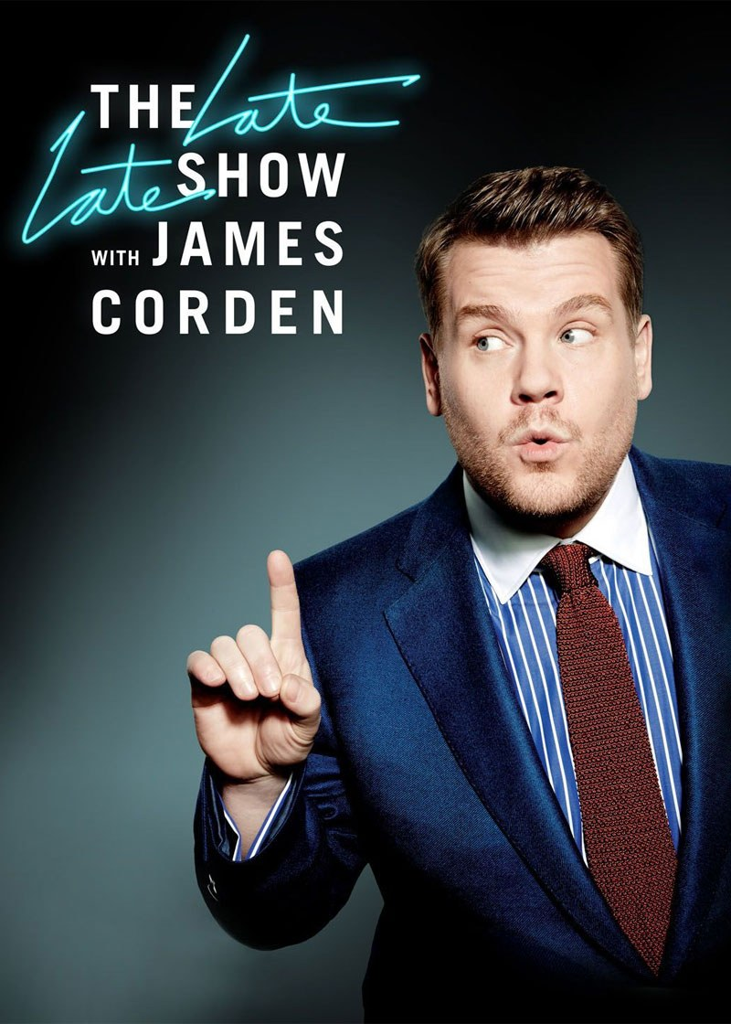 The Late Late Show with James Corden Show Poster