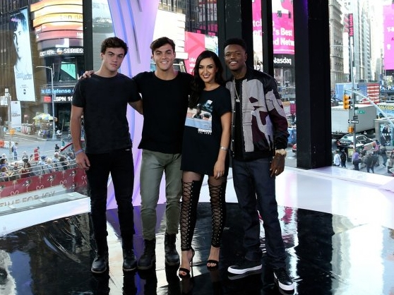 The new cast of Total Request Live