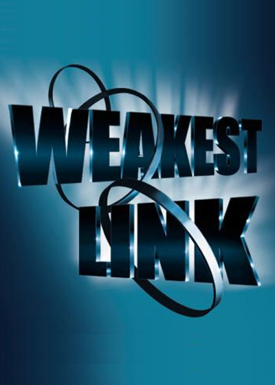 Weakest Link Show Poster