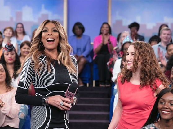 Wendy Williams discussing hot topics with her audience