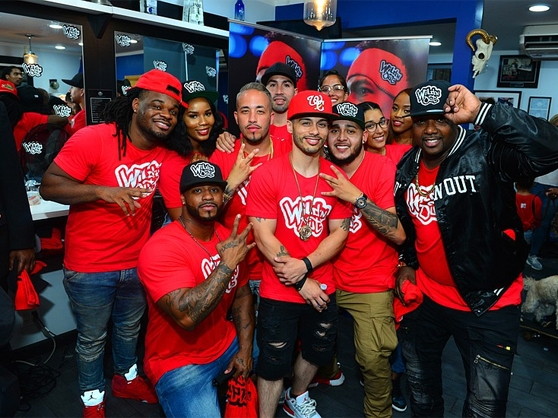 Members of the Red Team on Wild N' Out Live
