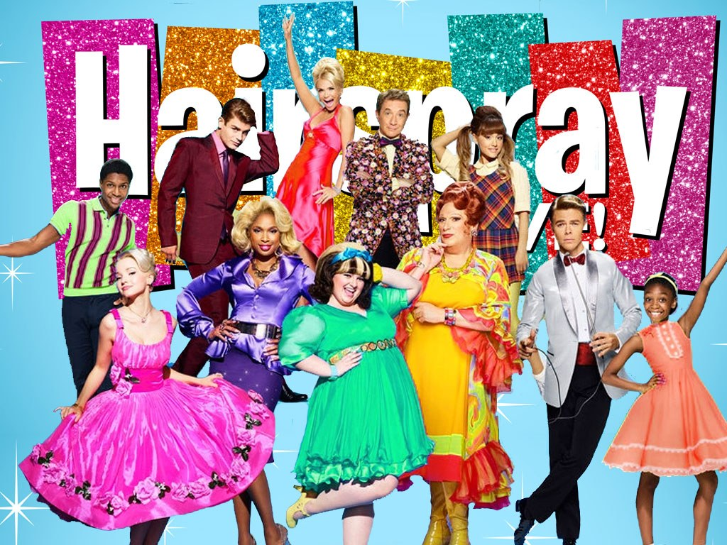 The Cast of NBC's Live Production of the 2002 Broadway Musical Hairspray