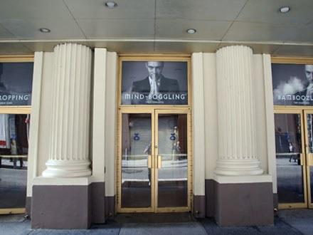 Derren Brown: Secret Front Broadway Entrance