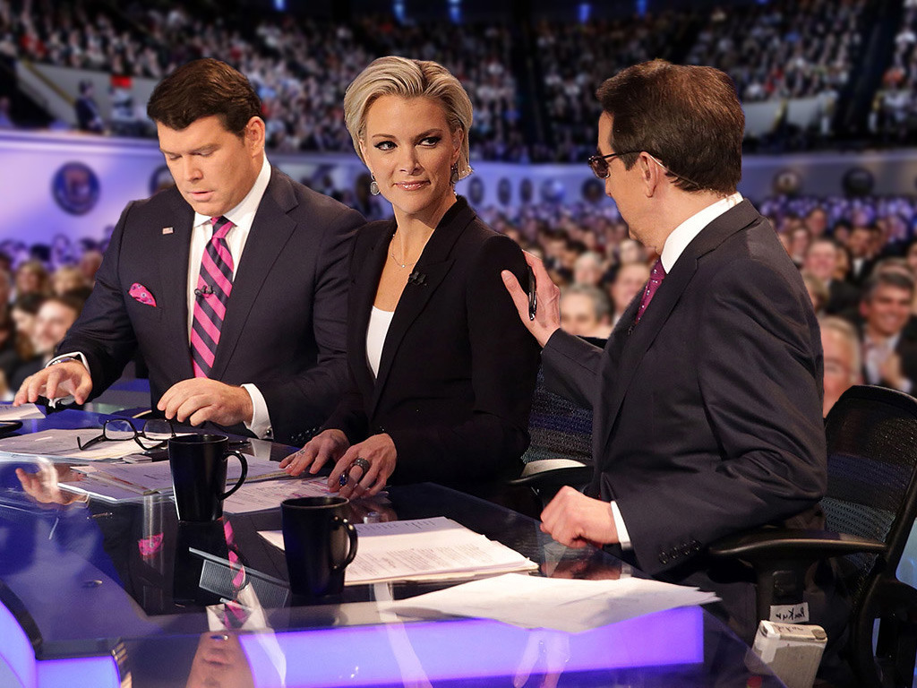 Megyn Kelly as the Moderator of the 2015 Republican Presidential Debate