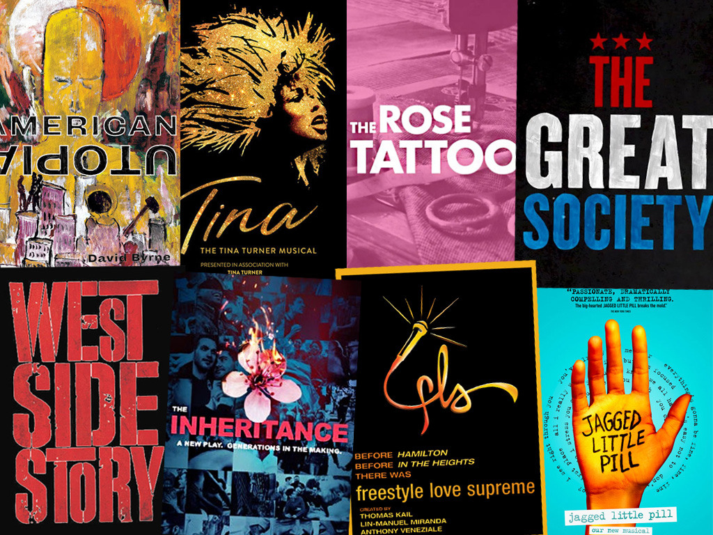 The Show Posters of The Upcoming Fall 2019 Broadway Shows