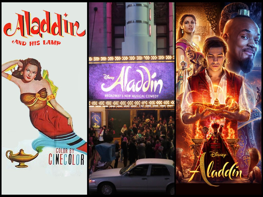 Original, Broadway and Live Action Aladdin