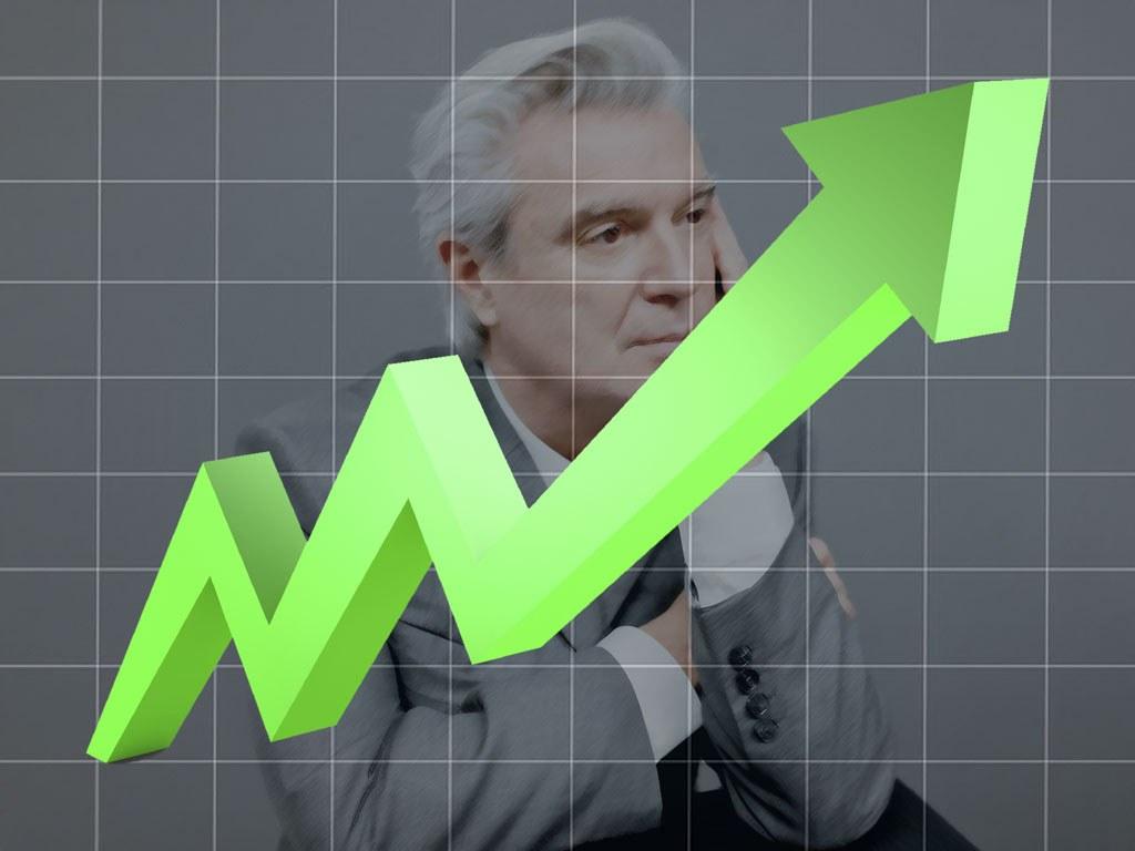 David Byrne Sales Chart Image