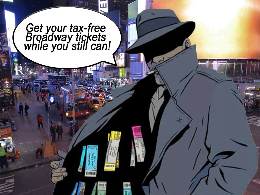 Broadway Ticket Sales Tax