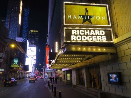 Hamilton Theatre Marquee