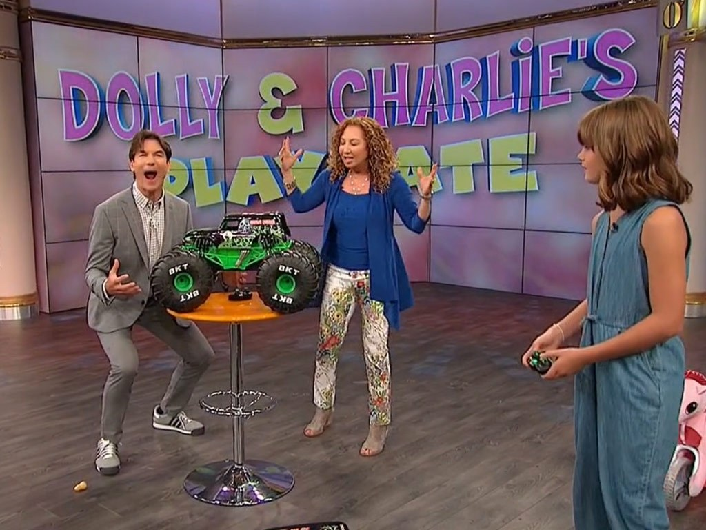Jerry O'Connell does Toy Segment on his new show Jerry O'