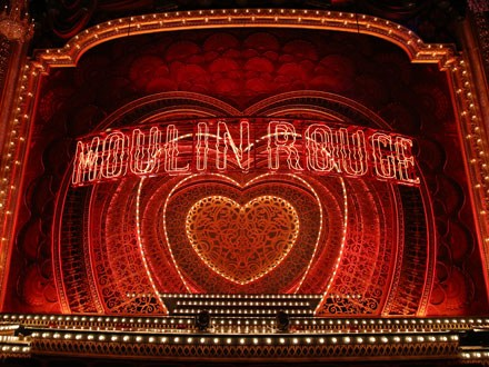 Moulin Rouge Broadway stage