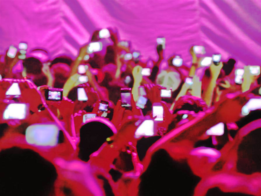 Cell Phone Usage at a Live Show