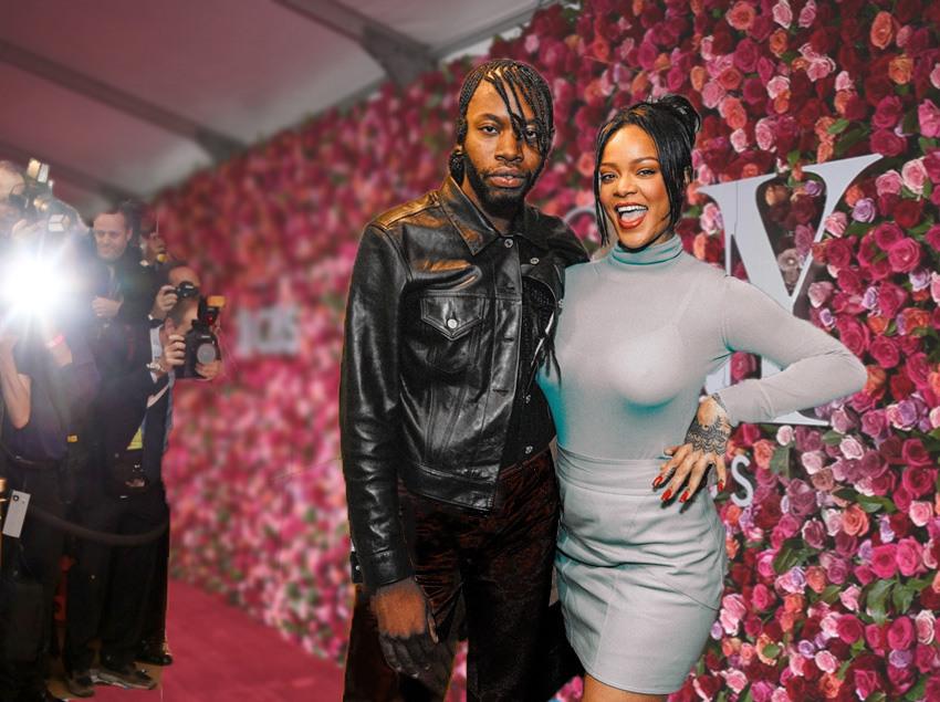 Rihanna and Jeremy o'Harris Slaver Play at the Tony Awards