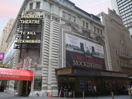 To Kill a Mockingbird Broadway Show Marquee