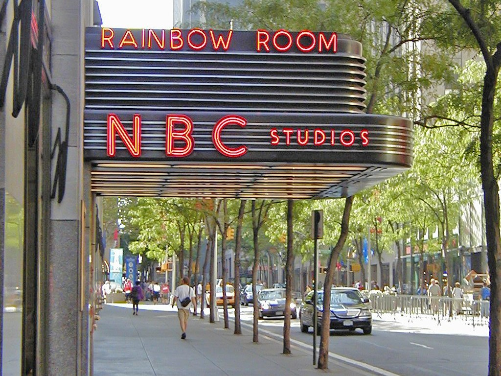NBC Studios at 30 Rock in NYC