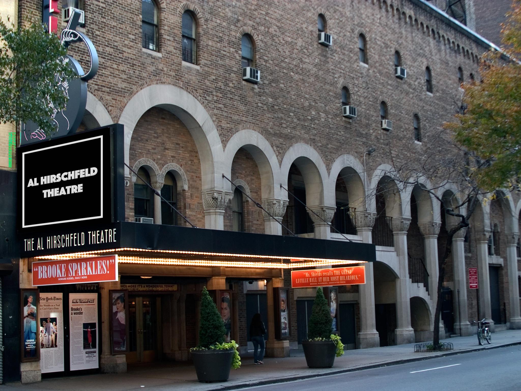 Al Hirschfeld Theatre on Broadway