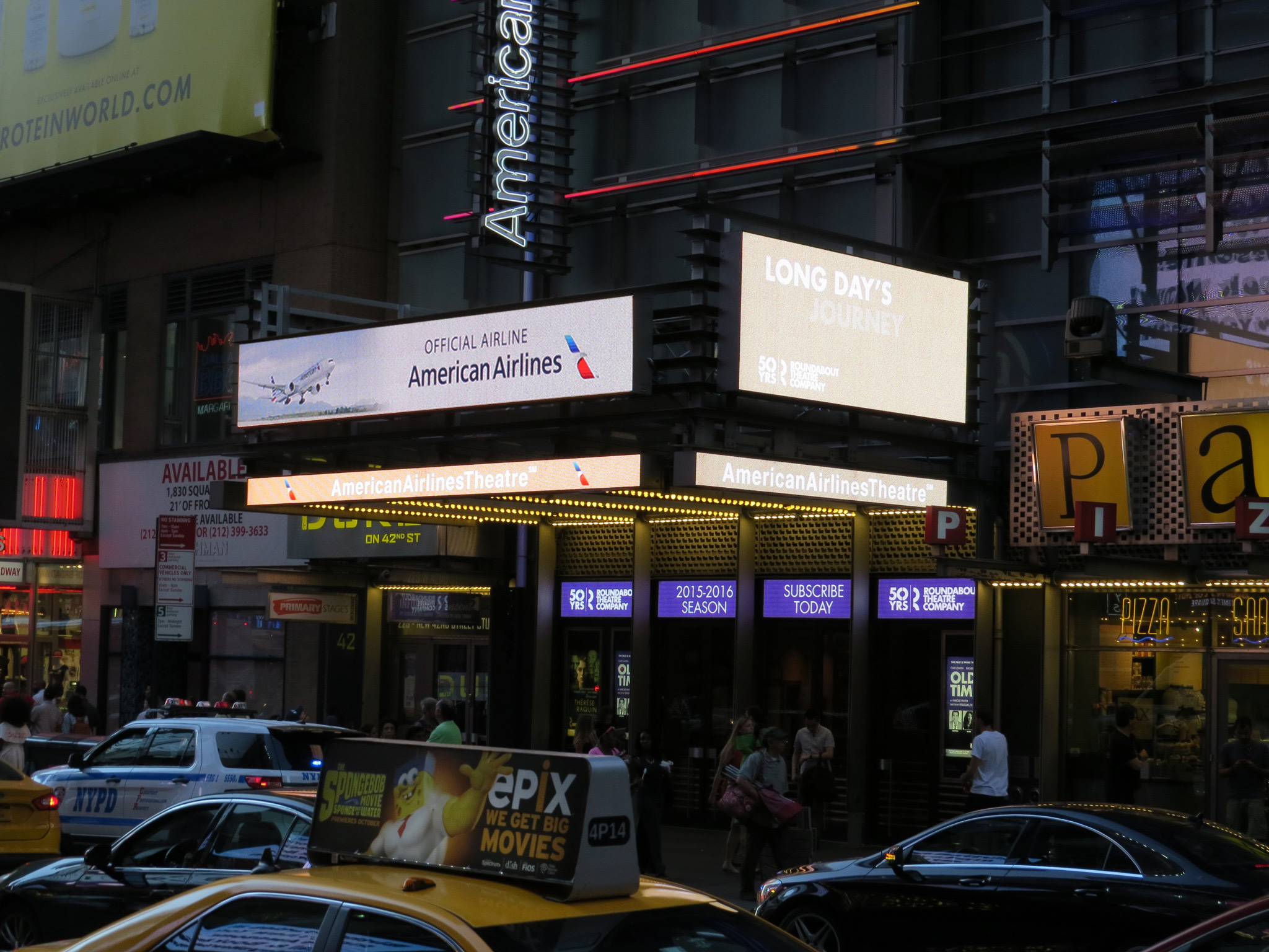 American Airlines Theatre on Broadway