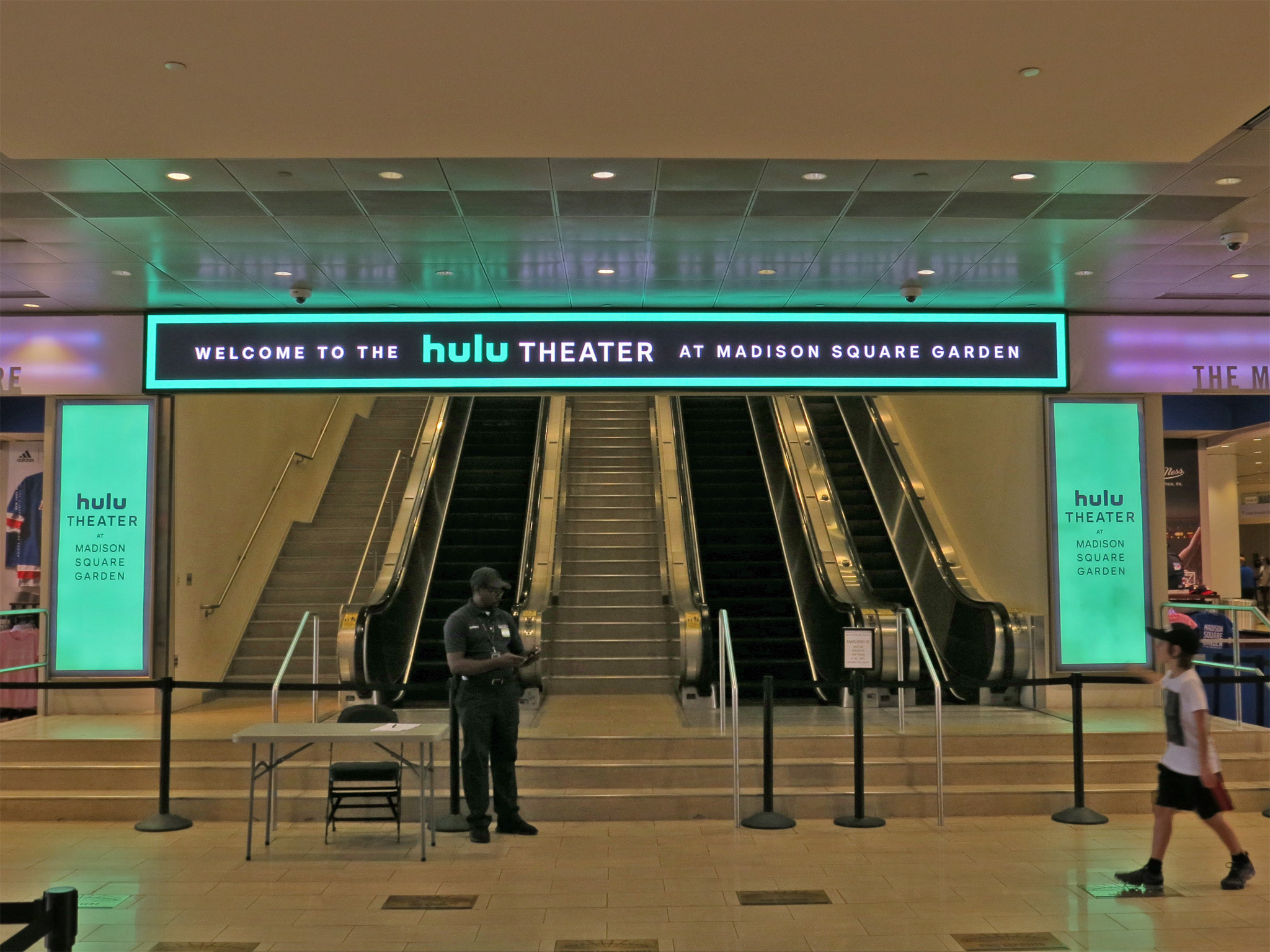 Hulu Theatre at Madison Square Garden Front Facing In Door Entrance