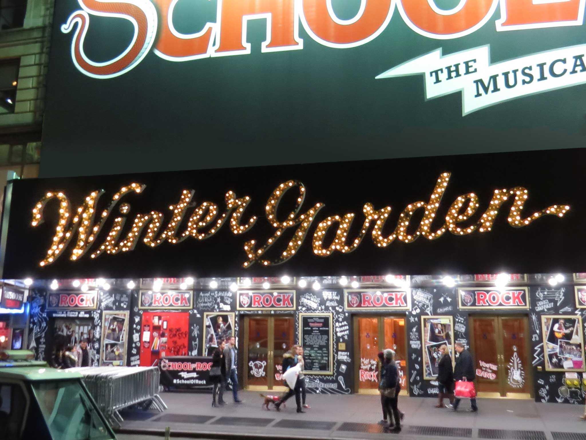 Winter Garden Theatre Broadway