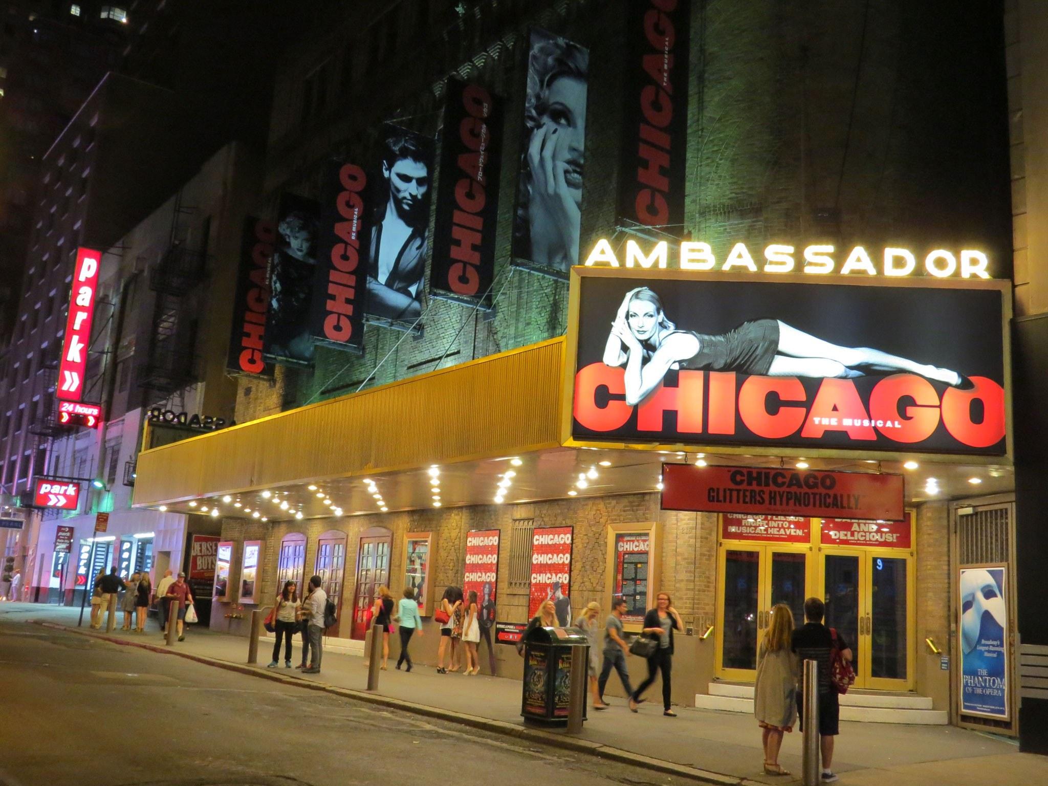 Chicago at Ambassador Theatre