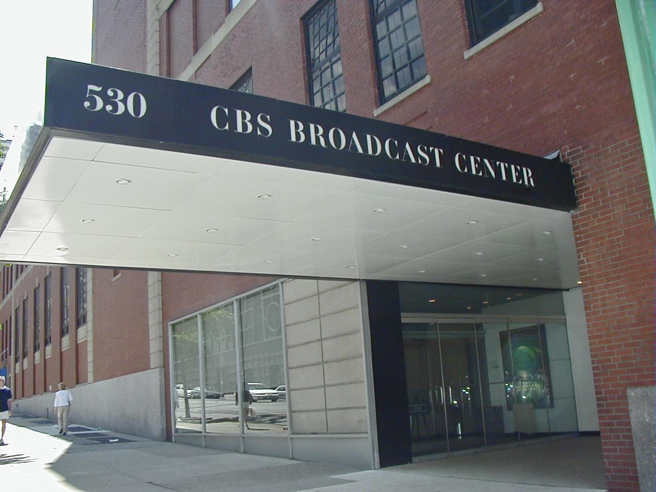 CBS Broadcast Center 530 West 57th street NYC