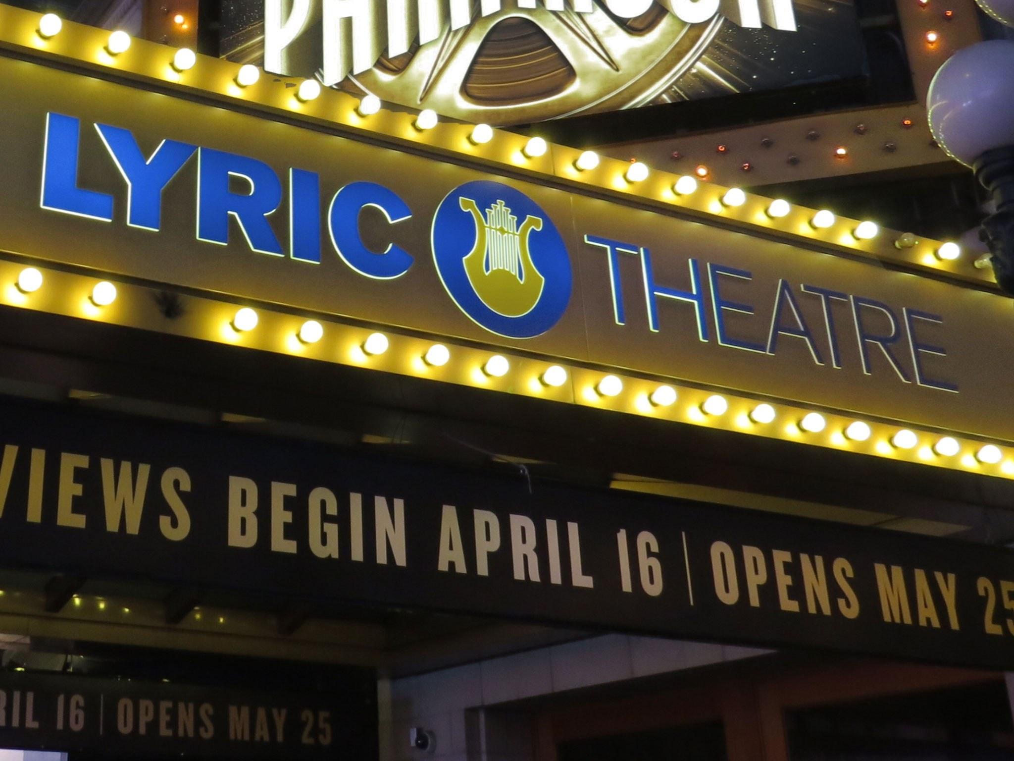Lyric Theatre on Broadway